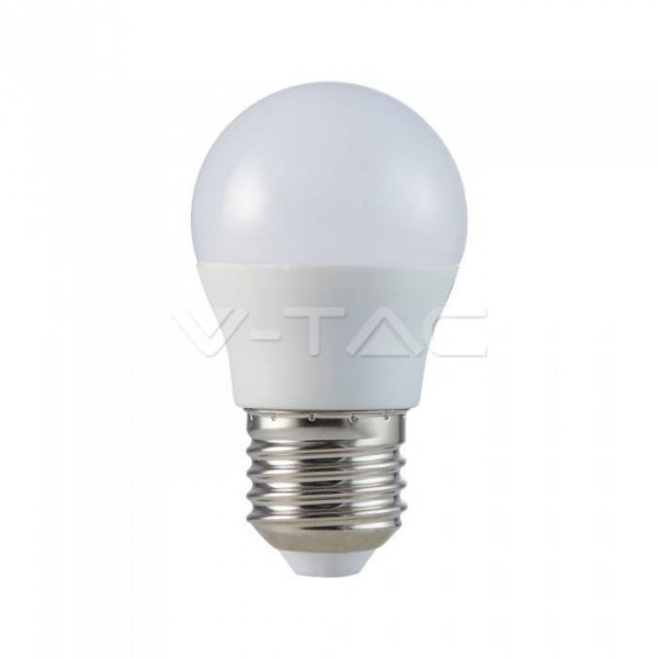 Żarówka LED V-TAC 5.5W E27 Kulka G45 (Opak. 6szt) VT-2256 2700K 470lm