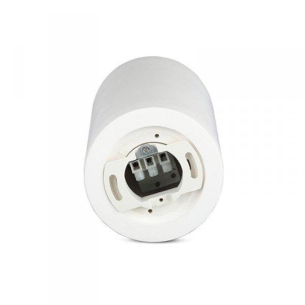 Oprawa V-TAC GIPS BETON GU10 Natynkowa Biały/Różowe Złoto VT-865 5 Lat Gwarancji
