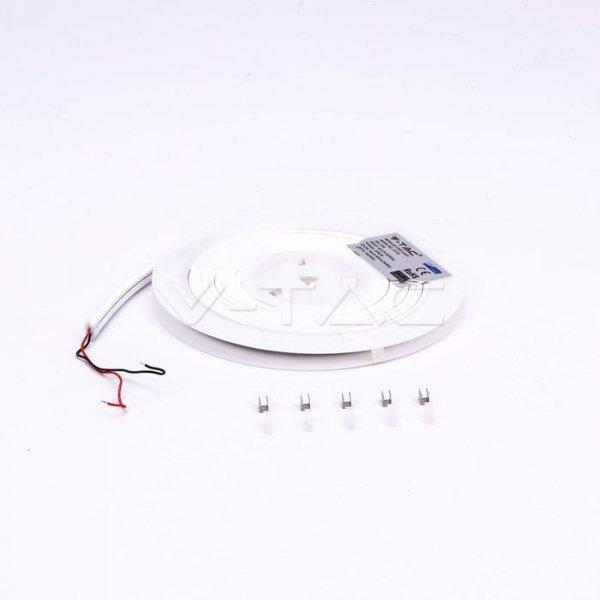 Neon LED V-TAC SAMSUNG CHIP 12V 5mb IP65 10W/m 120LED/m VT-55 5000K 300lm 3 Lata Gwarancji