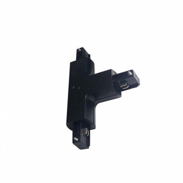 Łącznik Szynoprzewodu T Track Light 3 fazowy Czarny V-TAC