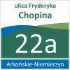Tabliczka adresowa Szczecin 33/33cm