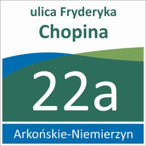 Tabliczka adresowa Szczecin 33 cm x 33 cm