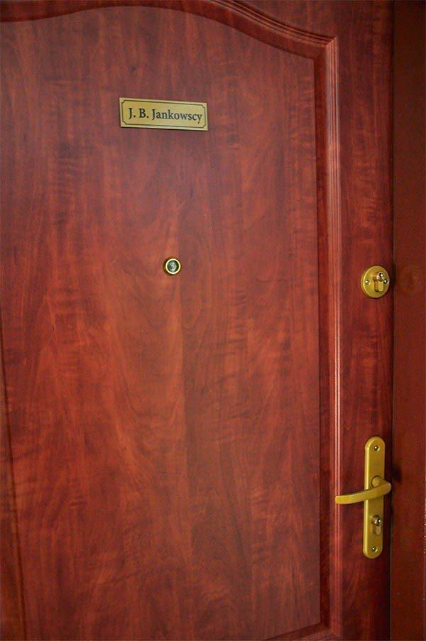 Tabliczka na drzwi 13 cm x 4 cm