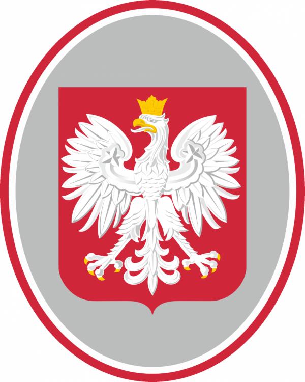 Tablica Godło Polski 40 x 50 cm