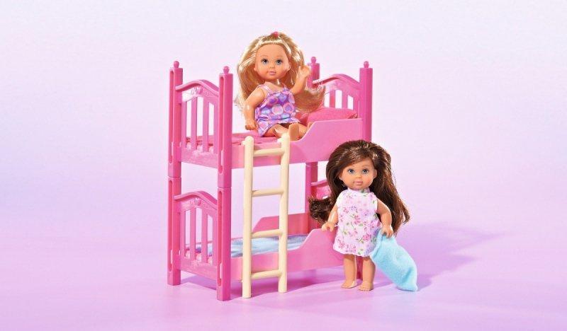 Lalka Evi z piętrowym łóżkiem