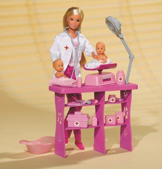 STEFFI Pediatra z dwoma niemowlakami