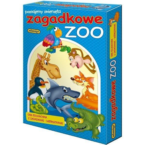 Gra Układanka Zagadkowe Zoo