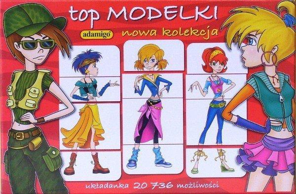 Układanka Top Modelki