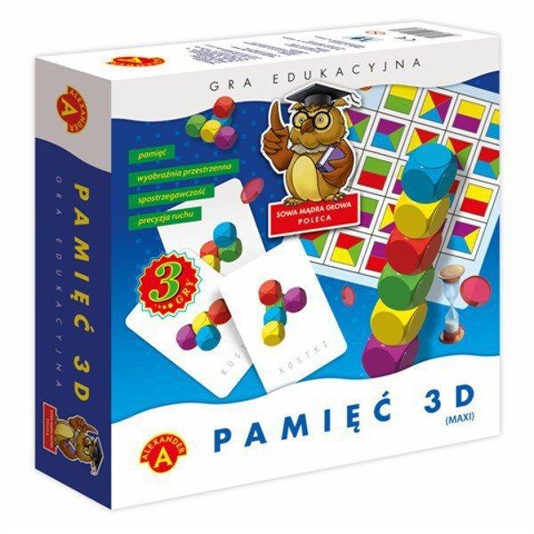 Gra Pamięć 3D Maxi