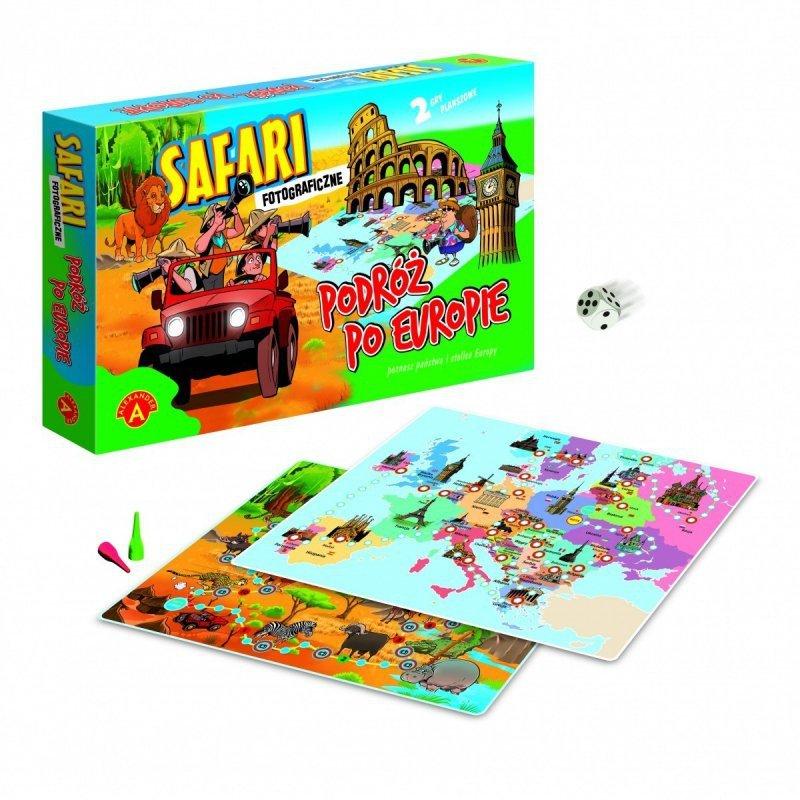 Gra Safari fotograficzne - podróz po Europie