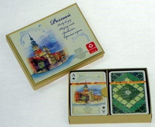 Karty Poznań Akwarele 2 x 55 listków