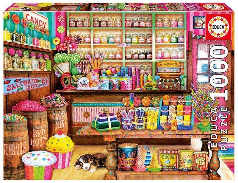 Puzzle 1000 elementów, Candy Shop