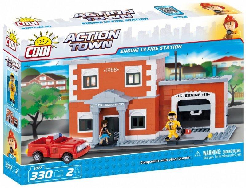 Klocki Action Town Remiza straży pożarnej