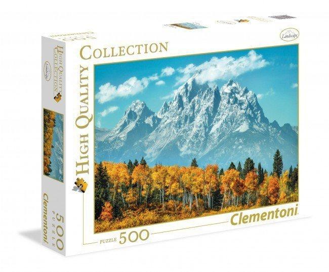 500 ELEMENTÓW Park Narodowy Grand Teton