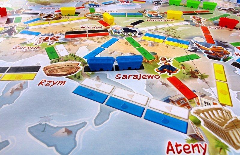 Gra Wsiąść do Pociągu: Pierwsza Podróż