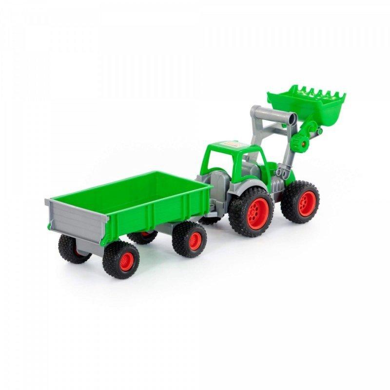 Pojazd Farmer Technic, traktor-ładowarka