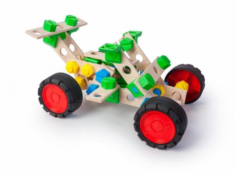 Zestaw konstrukcyjny Mały Konstruktor Junior 3w1 - Rajdówka