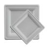 Talerz z trzciny cukrowej kwadratowy 15x15cm, 50szt