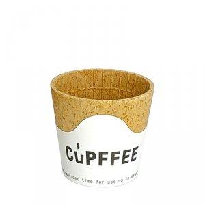 Jadalna filiżanka waflowa Cupffee 110ml, 10szt