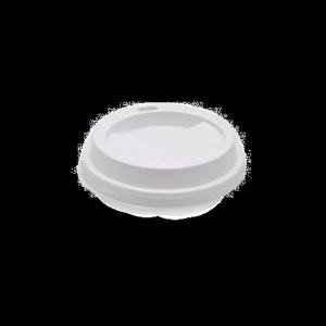 Pokrywka wieczko PS do kubka białe średnica 80mm, 100szt