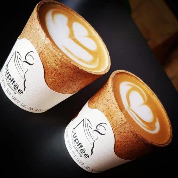 """Jadalna filiżanka waflowa """"Cupffee"""" 110ml, 5x10szt"""