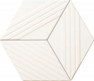 Tubądzin Colour White Mozaika 19,8x22,6