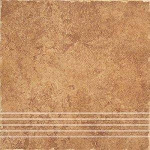 Ceramika Gres Riva Beż Stopnica 33x33