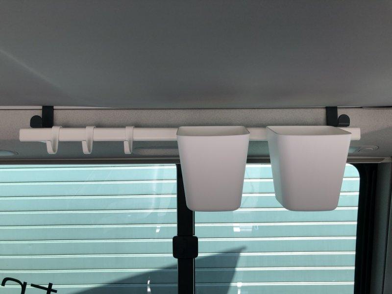 Haki (pod)dachowe - komplet 2 sztuki