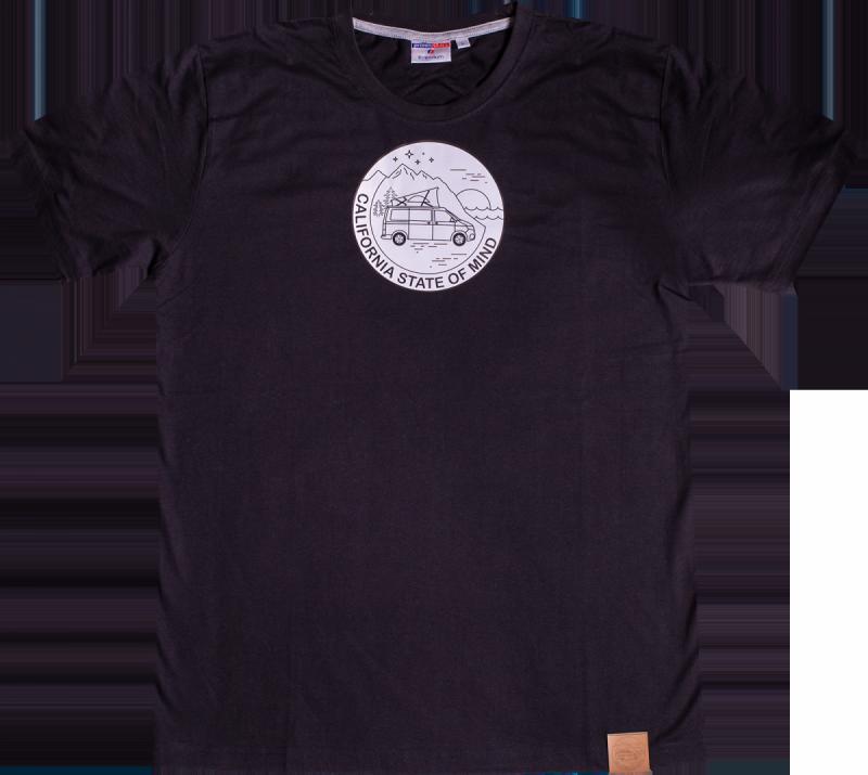 Koszulka męska T-Shirt California State of Mind