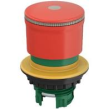 Miniaturowy przycisk bezpieczeństwa 30mm do otworu 22mm pierścień podświetlany odblokowanie przez pociągnięcie M22-PVL30