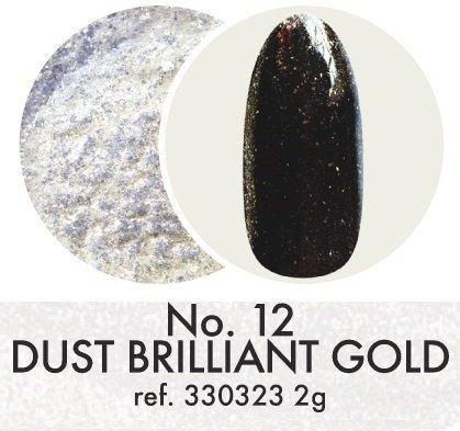 Pyłek dekoracyjny: Brilliant Gold No.12