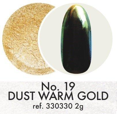 Pyłek dekoracyjny: Warm Gold No.19