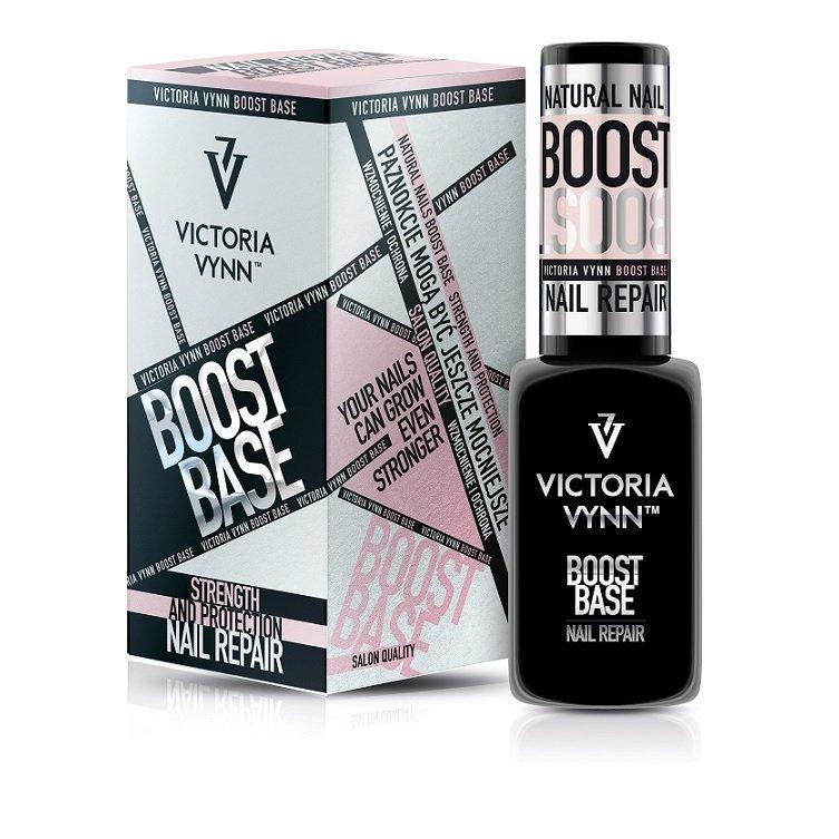 BOOST BASE 2in1 15ml - baza hybrydowa i odżywka paznokci w jednym