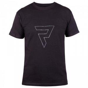 T-SHIRT REBELHORN CASUAL BLACK/GREY XL