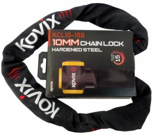 Łańcuch zabezpieczający z alarmem KOVIX KCL10-150