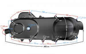 Pokrywa silnika NAPĘDU 430 SKUTER CHELLENGER 2