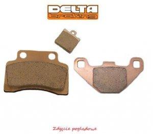 Klocki hamulcowe motocyklowe DELTA DB5080 (odpowiednik FA169)
