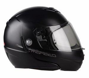 Kask motocyklowy LAZER MONACO EVO Pure Glass czarny matowy 2XL
