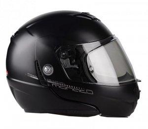 Kask motocyklowy LAZER MONACO EVO Pure Glass czarny matowy XS