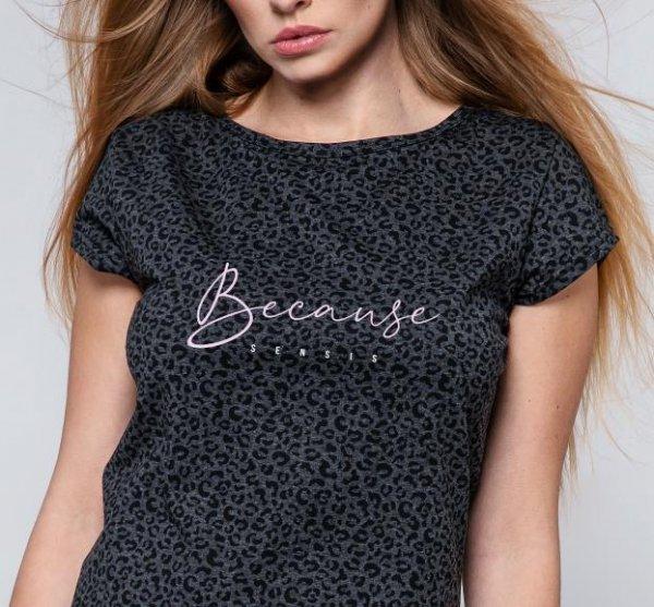 Koszulka Because