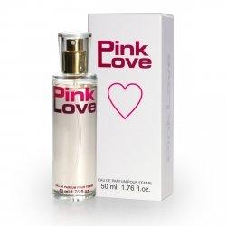 NOWOŚĆ!!! PINK LOVE 50ML erotyczne perfumy z feromonami dla kobiet