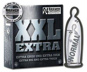 Prezerwatywy Secura XXL Extra 24 szt.