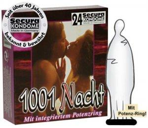 Prezerwatywy Secura 1001 - 24 szt.