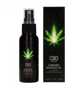 Shots CBD Cannabis Massage Oil 50 ml