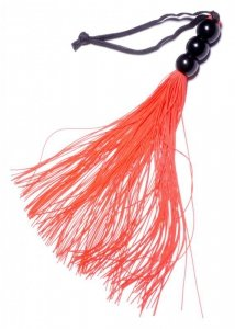 Silicone Whip Red 10 - Fetish Boss Series