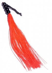 Silicone Whip Red 14 - Fetish Boss Series