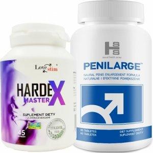 Penilarge i Hardex z aminokwasami zestaw na powiększenie