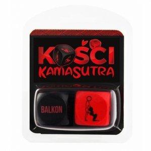 Kości Kamasutra czerwone