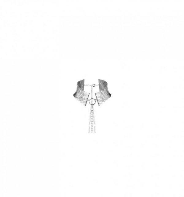Bijoux Indiscrets - Désir Métallique Collar (srebrna)