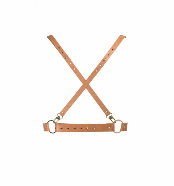 Bijoux Indiscrets - MAZE X Harness Brown